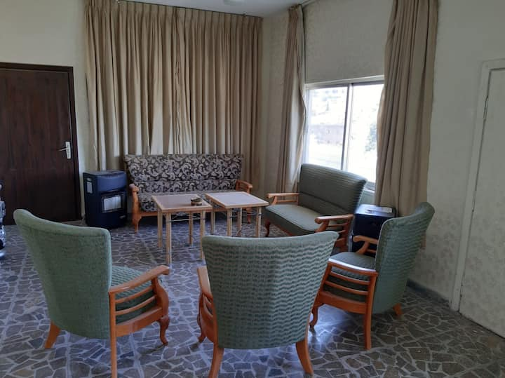 Furnished apartment in Jabal Amman nice view .