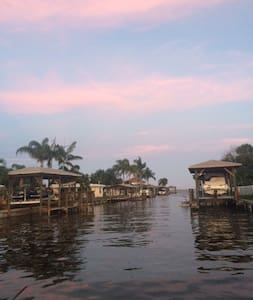 Twin beds private bath-Waterfront Bring your boat! - Merritt Island - Ev