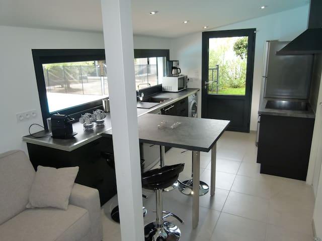 Maison 35 m2 avec piscine