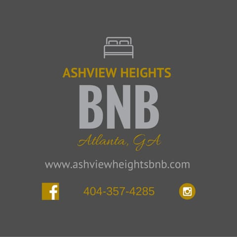 Ashview Heights BNB and Truly Living Well - Atlanta - Casa