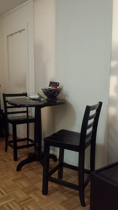 Eating Area.