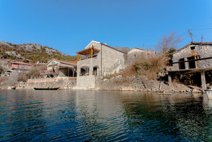 """Paradise House"" at National Park Skadar Lake - Cetinje"