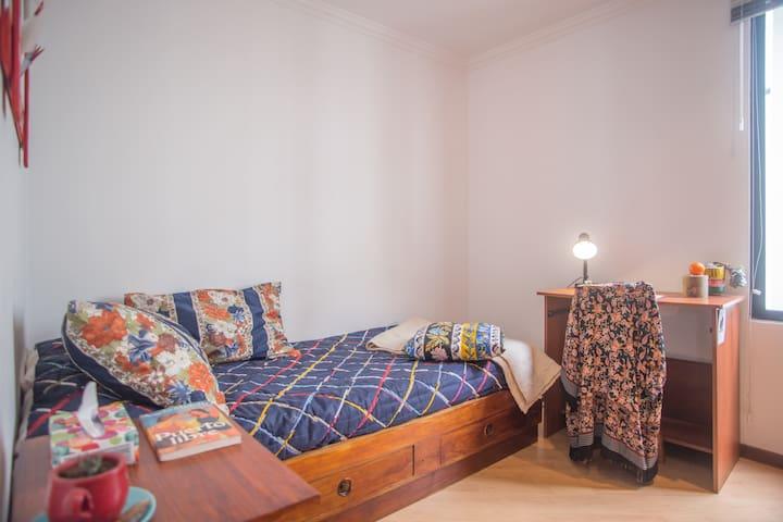 Confortable y agradable habitación