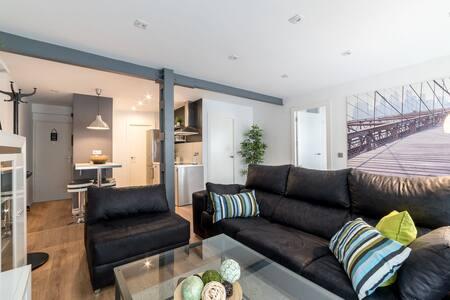 Moderno y tranquilo piso en pleno centro de Huelva - Huelva - Apartmen