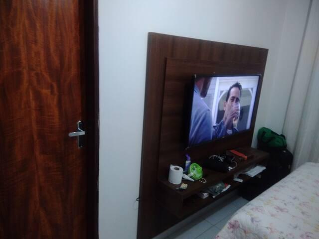 Apartamento primeiro andar , quarto com suíte