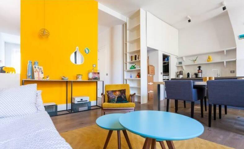 Nice artistic apartment for a family with a child - Marsiglia - Appartamento