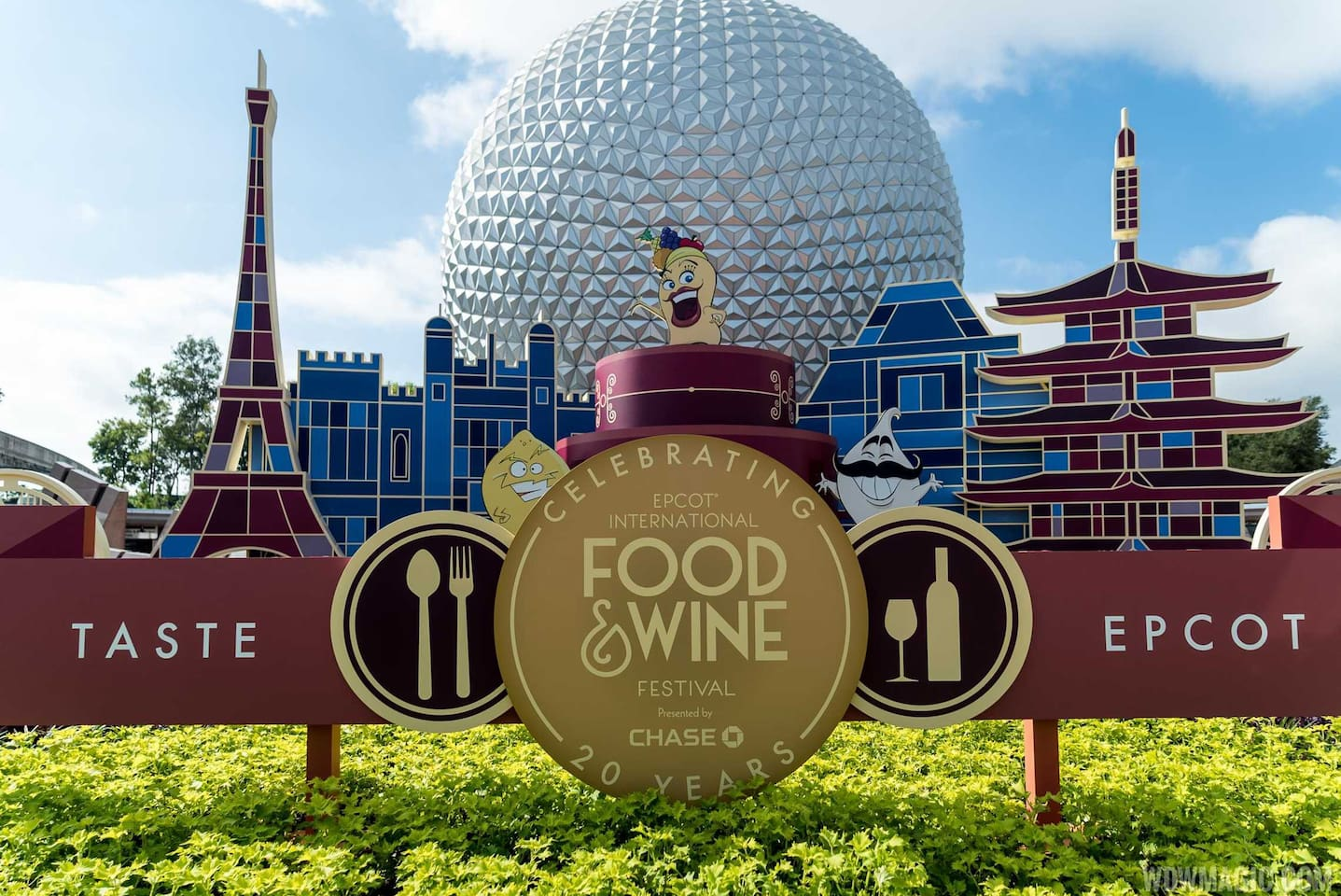 Come and enjoy Epcot's Food & Wine Festival