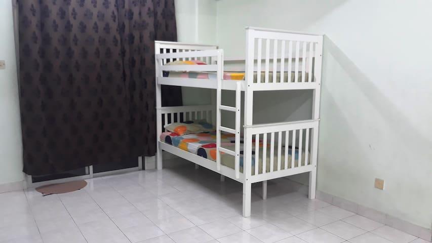 RM 30 Johor Bahru Bunk Bed Dormitory