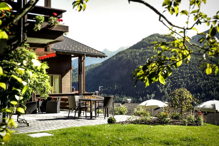 Beautiful alpin apartment with wellness area - Percha