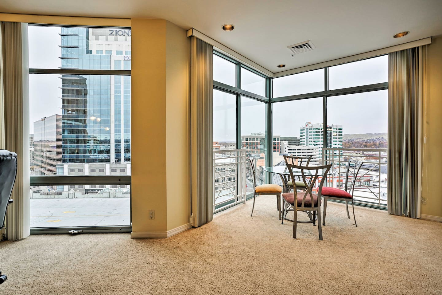 Experience downtown living at its finest at this high-rise condo in Boise!