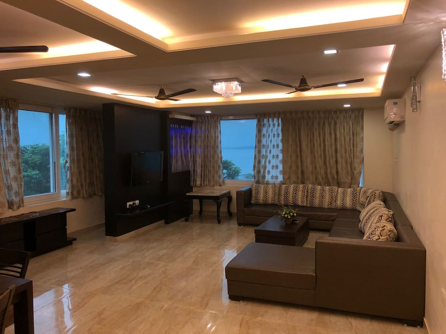 Living area of  1st  floor