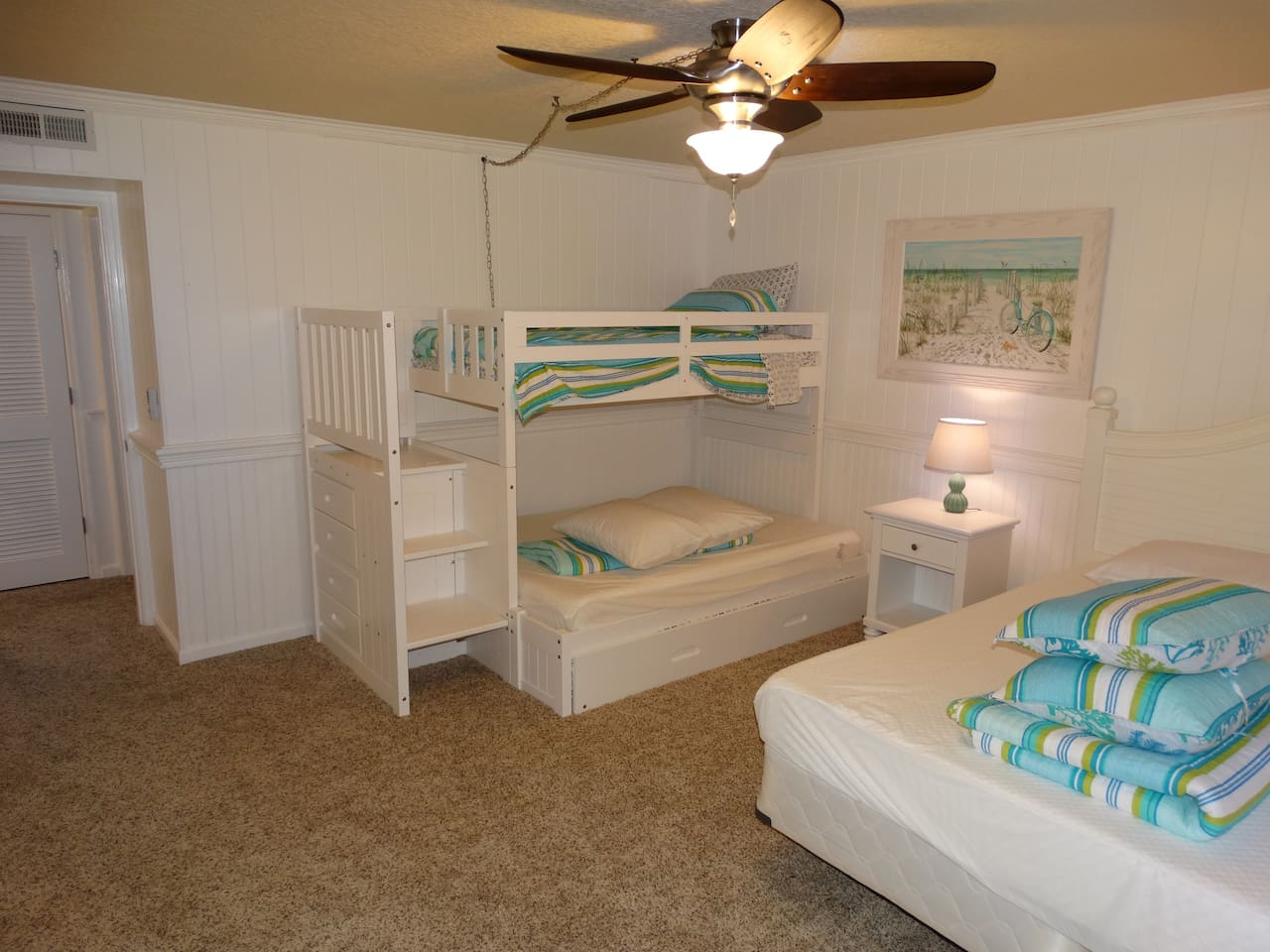 The Kids will LOVE the Bunks in Bedroom #2!