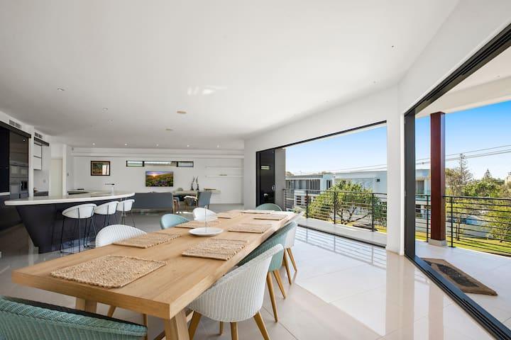 Lavish Beach House with Pool & Billiard Room
