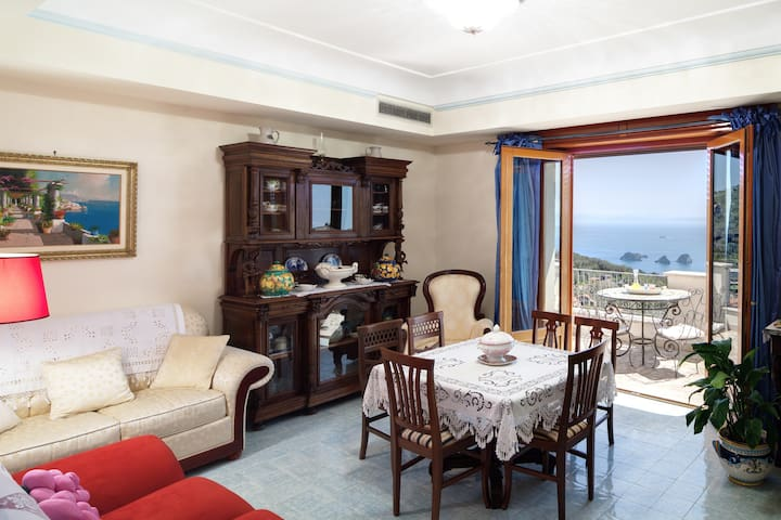 Apartment Ocean - in Sorrento coast, with sea view - Sant'Agata sui Due Golfi - Huoneisto