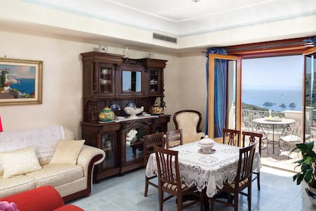Apartment Ocean - in Sorrento coast, with sea view - Sant'Agata sui Due Golfi - Apartemen