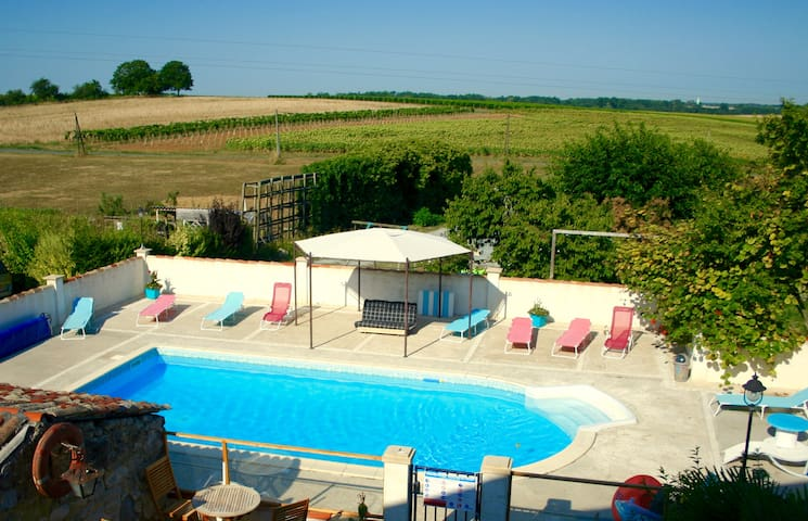 2/3 p appt in a kids friendly cluster, with pool - Fléac-sur-Seugne - Apartment
