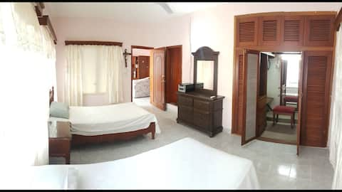 Comfortable and spacious room for two guests