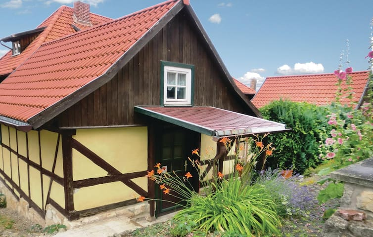 Holiday cottage with 1 bedroom on 43m² in Blankenburg