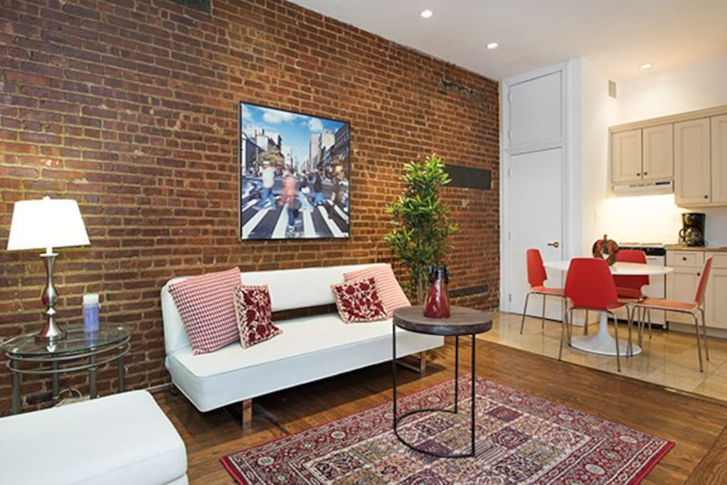 Brick-Inspired Modern Art Deco