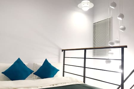 Designed double room in central TN - 台南市 - Rumah