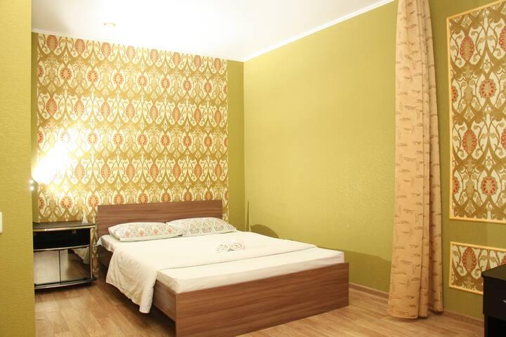 Апартаменты для 4х у Аэропорта Лазурная60