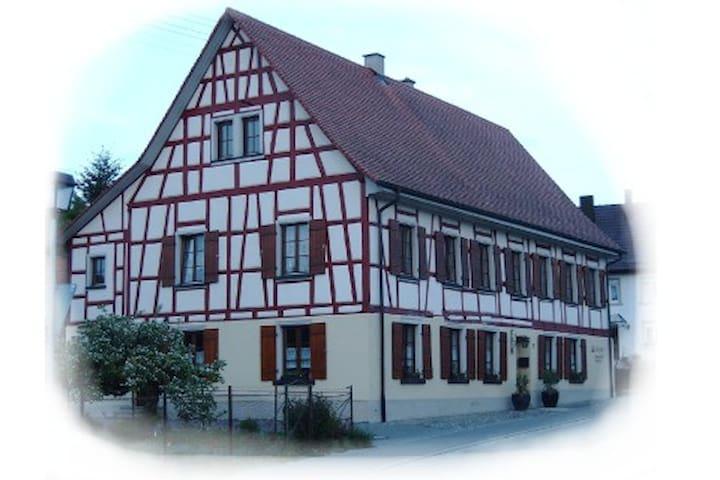 familienfreundliche  50-qm Wohnung - Sauldorf - Appartement
