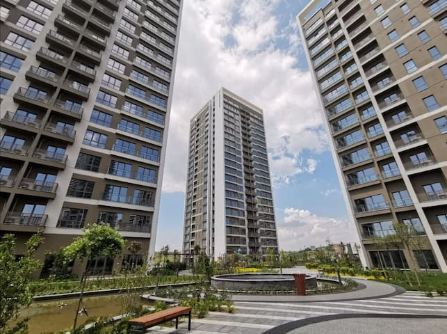 1+2 VIP apartment in Kayasehir with high view.
