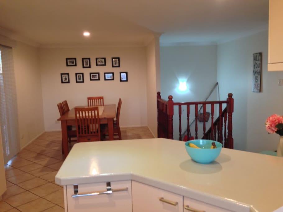 Upstairs Dining Room