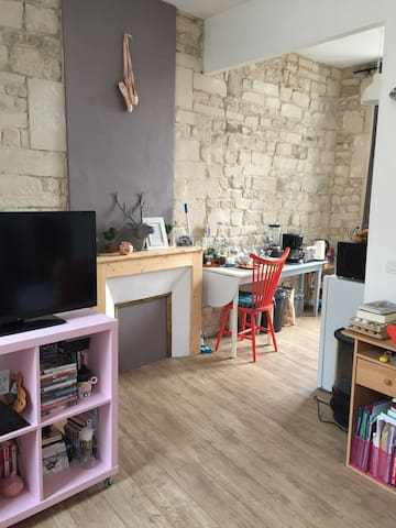Chaming studio in the historical center of town - Caen - Apartamento