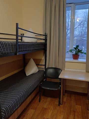 Койко-место в 6-ти местном номере, улица Ижорская