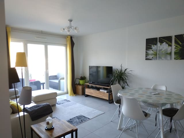 Appartement T3 60m2 terrasse10m2 résidence piscine