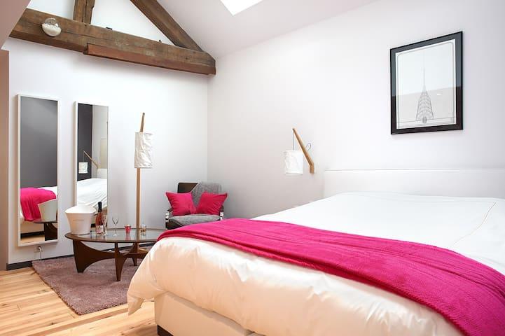Chambre Rosé - Rilly-la-Montagne - Oda + Kahvaltı