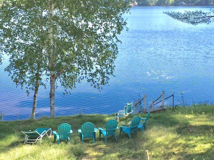 lakefront 3 + bedroom Bonny Eagle Pond Buxton