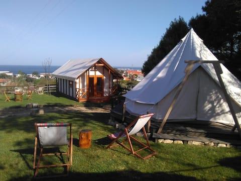 Glamping Tent 2 & Safari Tent - Nature on Beach