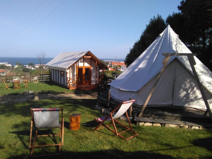 Glamping Tent 2 & Safari Tent - Nature on Beach
