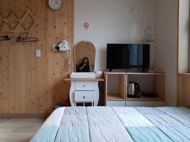 오대산힐링타운 물빛동 침대방 203호