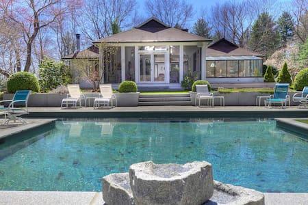 Roxbury 4-5BR Painter Hill,Pool - St.Bart's Style! - Roxbury - Huis