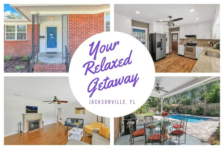 Relaxed Getaway w/Private Pool - Jacksonville FL