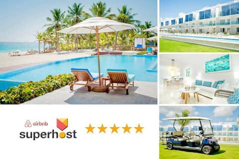 Luxe Beach & Golf Condo | FREE GOLF CART ☀️⛳️🏝