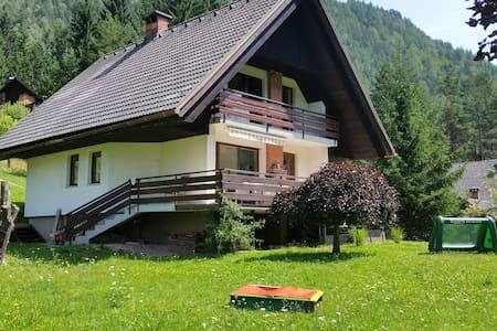Charming house with a big garden - Gozd Martuljek - 独立屋