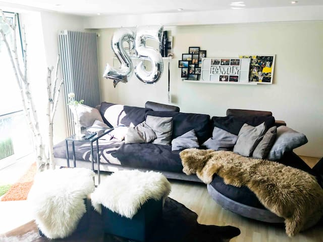 Calm and cozy souterrain apartment