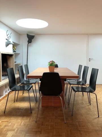 dining table for 14 guests
