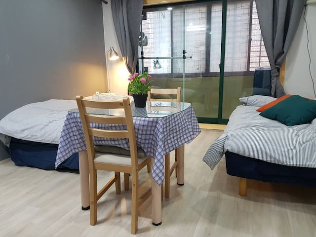 Private Studio Apartment Nearby Seoul Station - Yongsan-gu - Muu