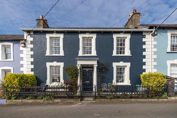 Superb Georgian House with Coastal Views, New Quay