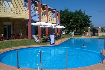 Ydna apartments near the sea with pool - Posidi