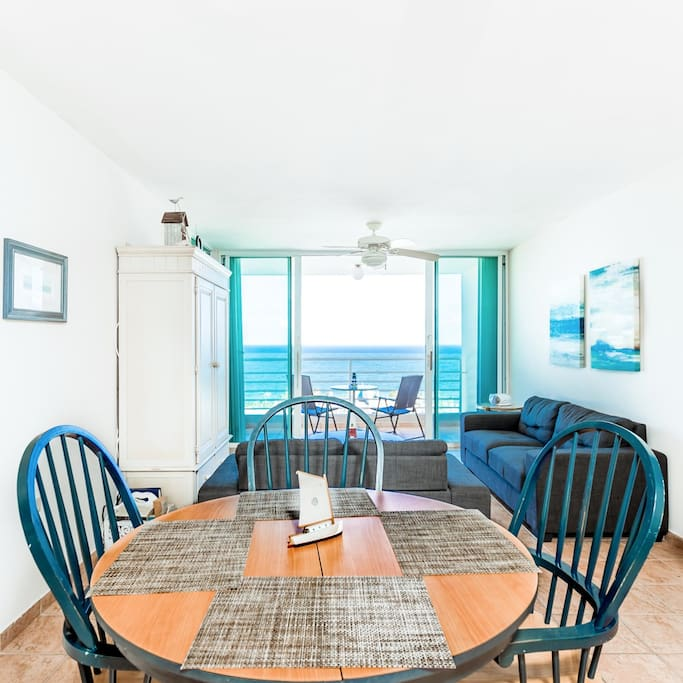 Open areas allows the fresh breeze to flow free through the condo.