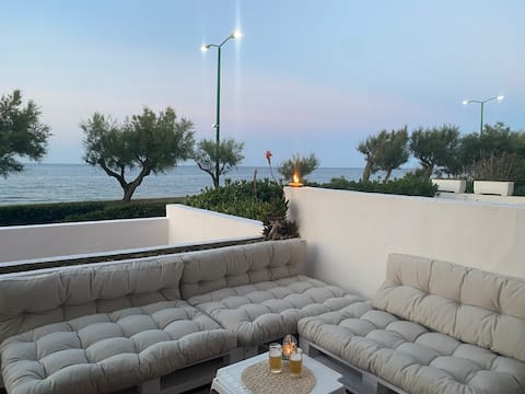 Puglia/Apulia - Salento beach front 2br house