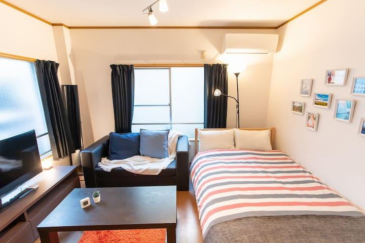 Near Shinjuku&Ikebukuro 4ppl stay bb01