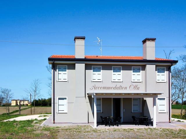 Holiday apartment Casa Olla in Ariano nel Polesine