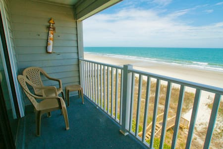 Superb Oceanfront Condo with Amazing View! - Murrells Inlet